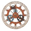 "EC World Imports Casa Cortes Gears of Time 36"" Wall Clock"