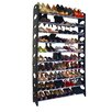 Linen Depot Direct 50 Pair Shoe Rack