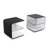 J&M Furniture Wave 2 Drawer Nightstand