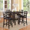 Crown Mark Tahoe 5 Piece Counter Height Dining Set