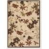 <strong>Couristan</strong> Urbane Botanical Garden Sand/TerraCotta Indoor/Outdoor Rug