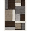 Couristan Moonwalk Stonewall Chocolate Rug