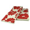 MU Kitchen MUmodern Towel in Red Poppy (Set of 2)