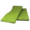 "MU Kitchen MUmodern Waffle 16"" x 24"" Microfiber Dish Towel in Grass (Set of 2)"