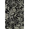 <strong>Dalyn Rug Co.</strong> Structures Black Floral Rug