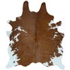 Panamerican Logix, Corp. Natural Cowhide Brown/White Area Rug