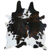 Panamerican Logix, Corp. Natural Cowhide Tricolor Area Rug I