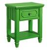 Standard Furniture Watercolor 1 Drawer Nightstand