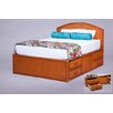 World Wide Hospitality Furniture Queen Storage Panel Bed