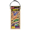 T.S.Shure 20 Piece Race Cars Wooden Magnets MagnaFun Set