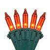 """Kringle Traditions 50 Mini Lights 4"""" Lead"""