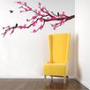 Pop Decors Prosperous Cherry Blossom Removable Vinyl Art Wall Decal
