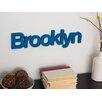 Word Billy Brooklyn Wall Décor