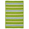 Colonial Mills Painter Stripe Garden Bright Indoor/Outdoor Area Rug