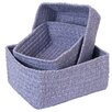 Colonial Mills No-Scratch Chenille Nesting Basket Set