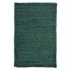 <strong>Colonial Mills</strong> Solid Chenille Dark Green Kids Rug