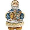 G Debrekht Derevo Into The Village Santa Figurine