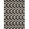Momeni Heavenly Black/Gray Geometric Tufted Area Rug