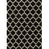 <strong>Momeni</strong> Geo Black Floral / Ethnic Rug