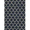 Momeni Geo Navy Floral / Ethnic Rug