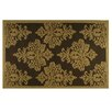 Resort Gold Damask Rug