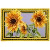<strong>Giant Sunflowers Rug</strong> by Homefires