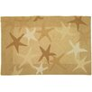 Homefires Starfish Field Beige Area Rug