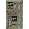 Homefires Mountain Trout Rug