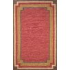 Ravella Red Border Rug