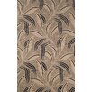 <strong>Ravella Neutral Leaf Outdoor Rug</strong> by Trans-Ocean Rug