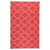 Surya Frontier Red/White Area Rug