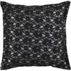 <strong>Surya</strong> Flower Lace Pillow