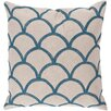 Surya Overlapping Oval Throw Pillow