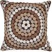 Surya Mesmerizing Circles Pillow
