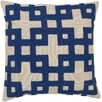 Surya Intersecting Squares Pillow
