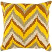 Surya Chevron Beat Throw Pillow