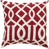 Surya Radiant Roman Numeral Pillow
