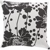 <strong>Surya</strong> Alluringly Abstract Floral Pillow
