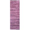 <strong>Gradience Burgundy Striped Rug</strong> by Surya