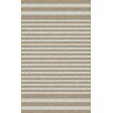 Surya Rain Ivory/Moss Striped Indoor/Outdoor Area Rug