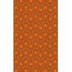 Surya Zahra Geometric Burnt Orange Area Rug