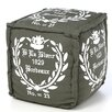 <strong>Pouf Cube Ottoman</strong> by Surya