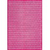 Surya Peace Hot Pink Geometric Area Rug