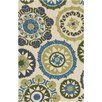 Surya Storm Beige/Lime Indoor/Outdoor Area Rug