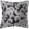 Surya Japanese Floral Florence Broadhurst Pillow with Down Fill