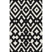 Surya Paddington Black & White Geometric Area Rug