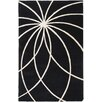 Surya Forum Black & Ivory Area Rug