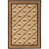 Big Sky Red/Chocolate Novelty Rug