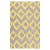 Surya Frontier Lemon & Brindle Geometric Area Rug