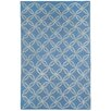 Capel Rugs Williamsburg Blue Linc Rope Graphic Area Rug